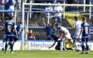 Peter Grant gave Morton the lead on the stroke of half-time.