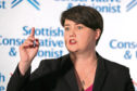 Leader of the Scottish Conservatives Ruth Davidson.