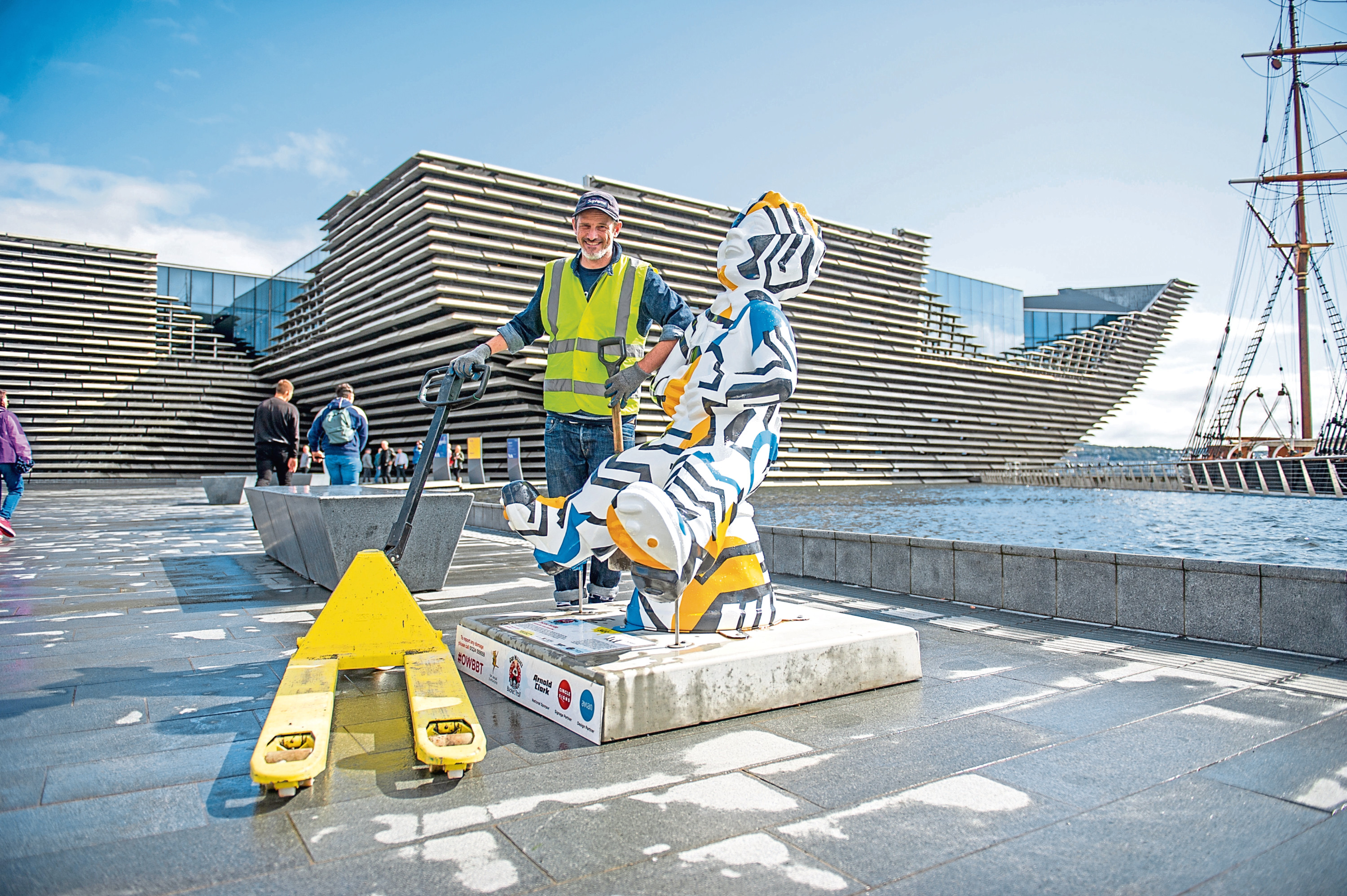 The Oor Wullie uplift from Dundee.