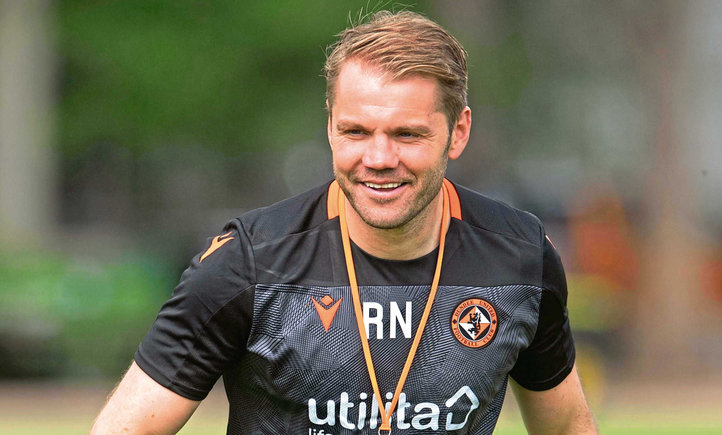 United manager Robbie Neilson.