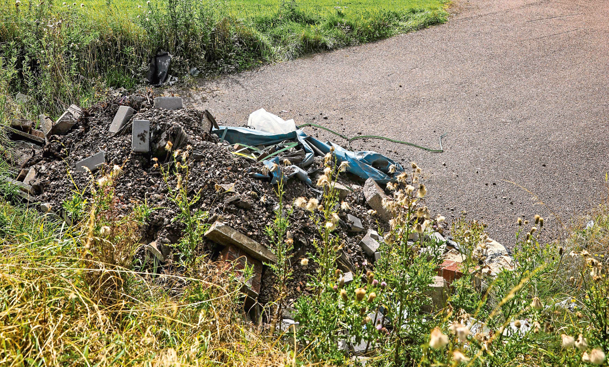 It is hoped the fund will help stop fly-tipping