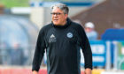 Ayr United Manager Ian McCall.