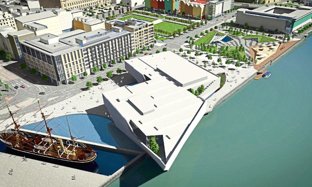 The latest plans for the Waterfront have gone down well with the public.