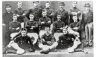 The Arbroath FC team that beat Bon Accord 36-0 in the Scottish cup