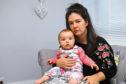 Hayley Hogan, with her daughter Rosie.