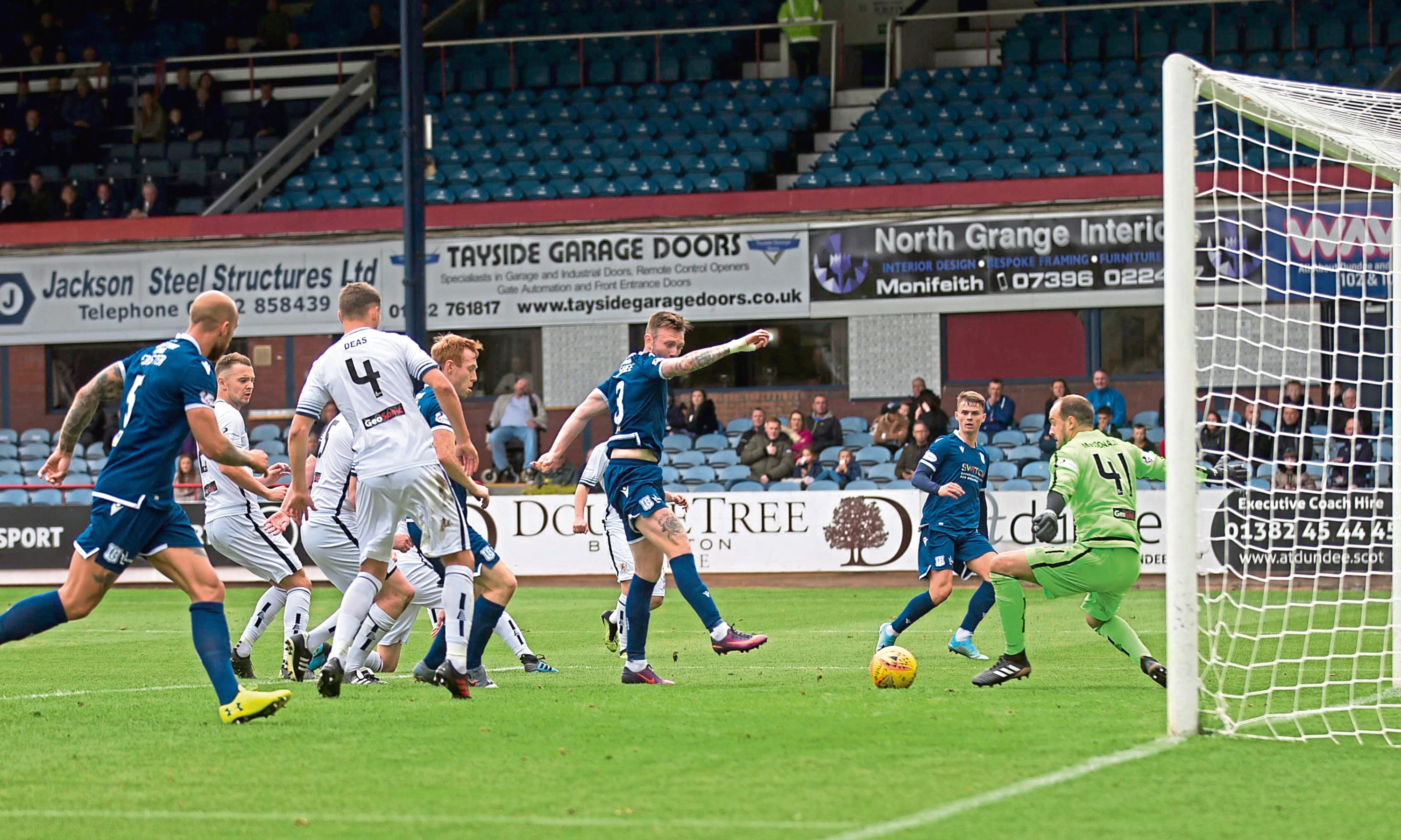 Jordan McGhee found the net seven minutes from full-time.