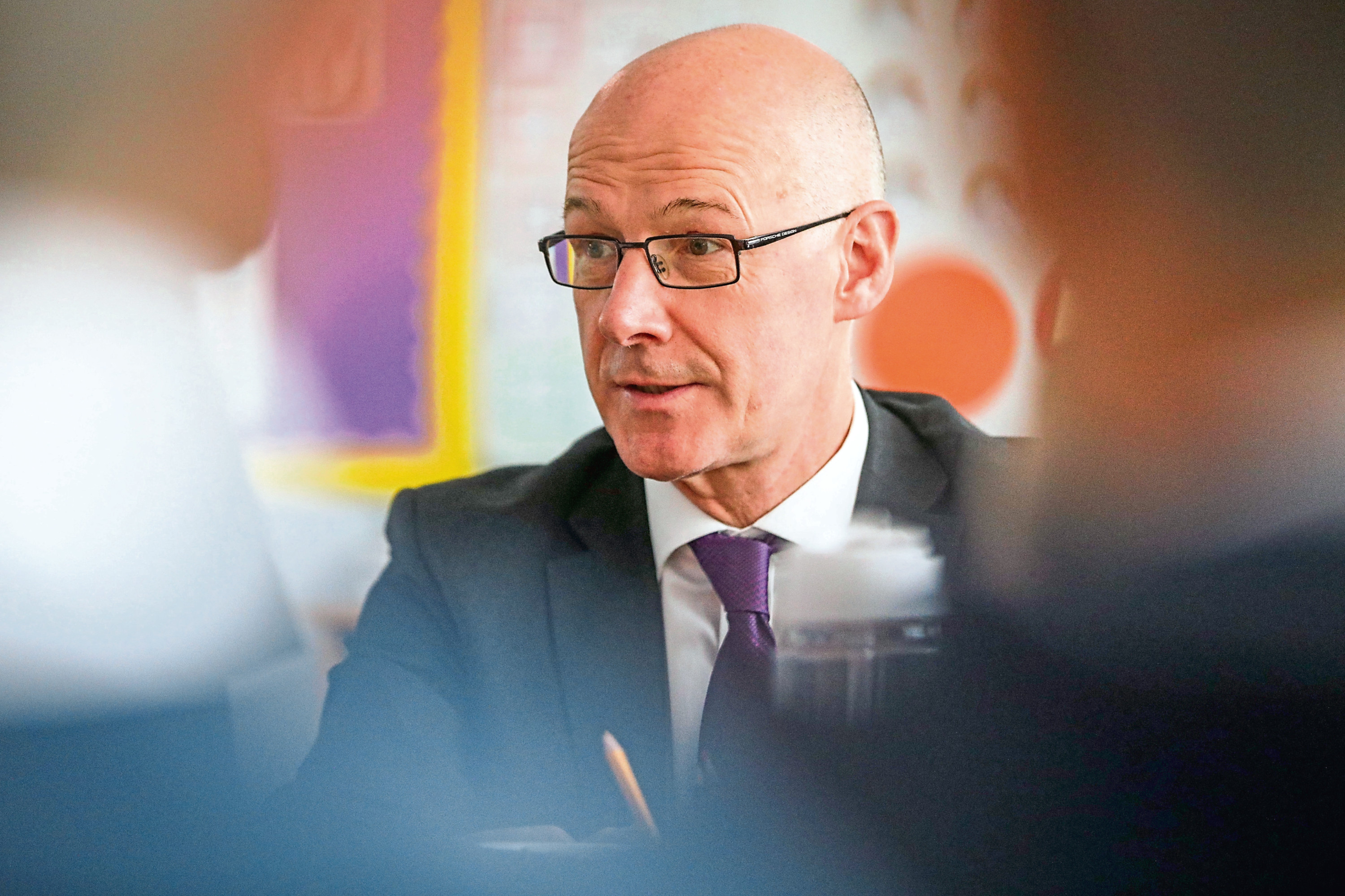 Education Secretary John Swinney said schools should prepare for a full return in August.