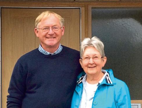 Jim Robertson, 70, and wife Morag, 73, who run the Alpha Course.