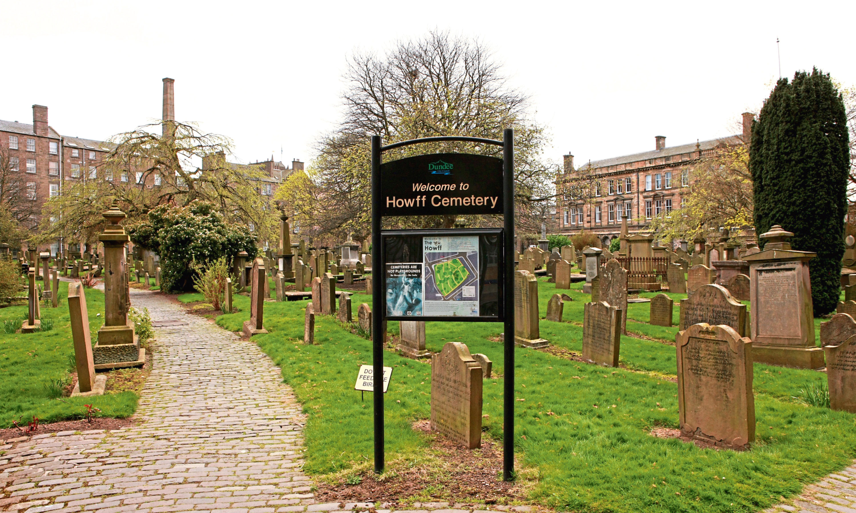 The Howff cemetery, Dundee.