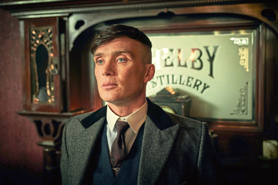 Tommy Shelby, played by Cillian Murphy.