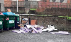 Some of the latest fly-tipping reported in the area.
