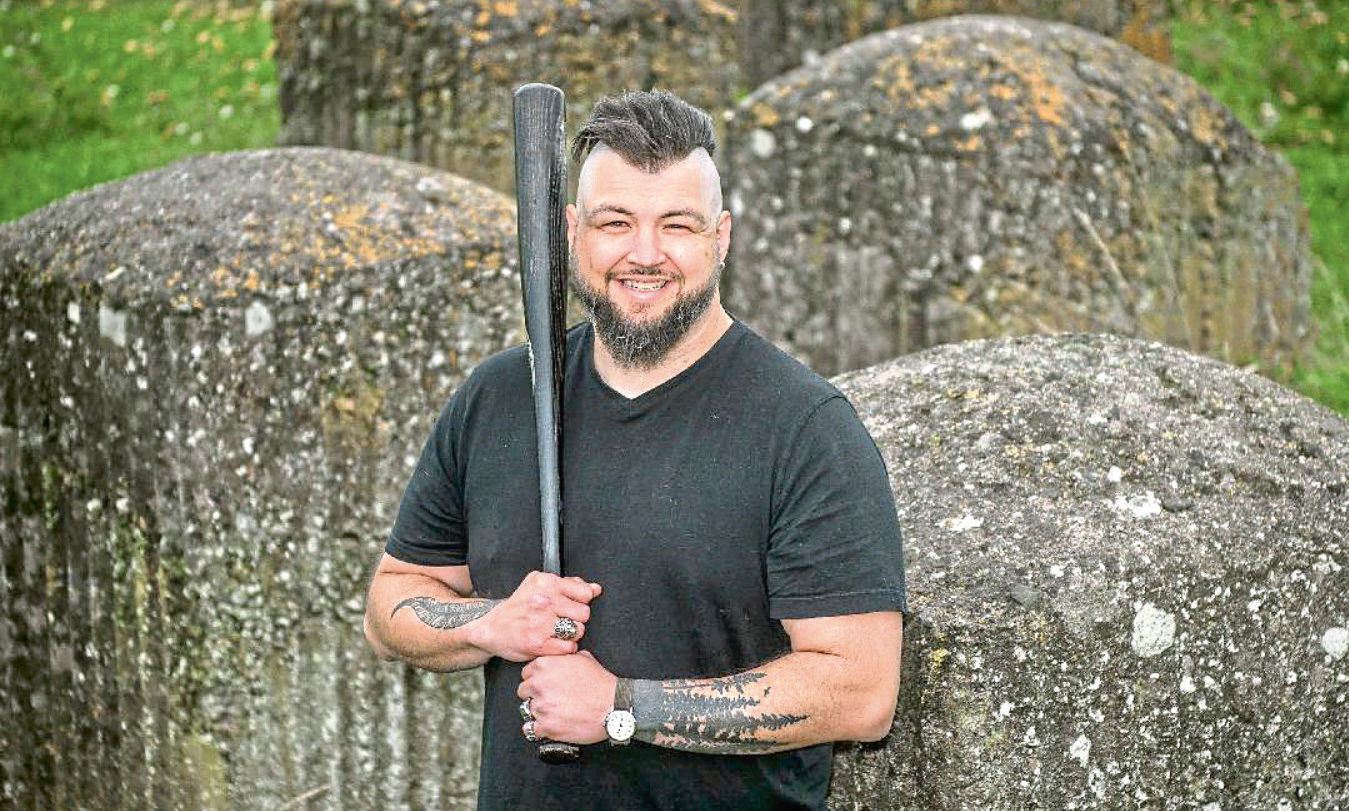 Jason West is the general manager of the newly-formed Tayport Breakers.