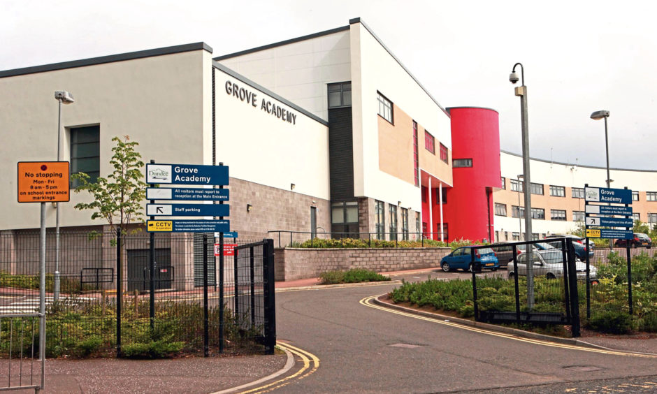 Grove Academy in Broughty Ferry.