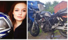 Bethany Lane has been left gutted by the theft of her motorbike.