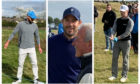 Justin Timberlake, Jamie Redknapp and Jocky Scott, and Ronan Keating all playing today at Carnoustie Golf Links.