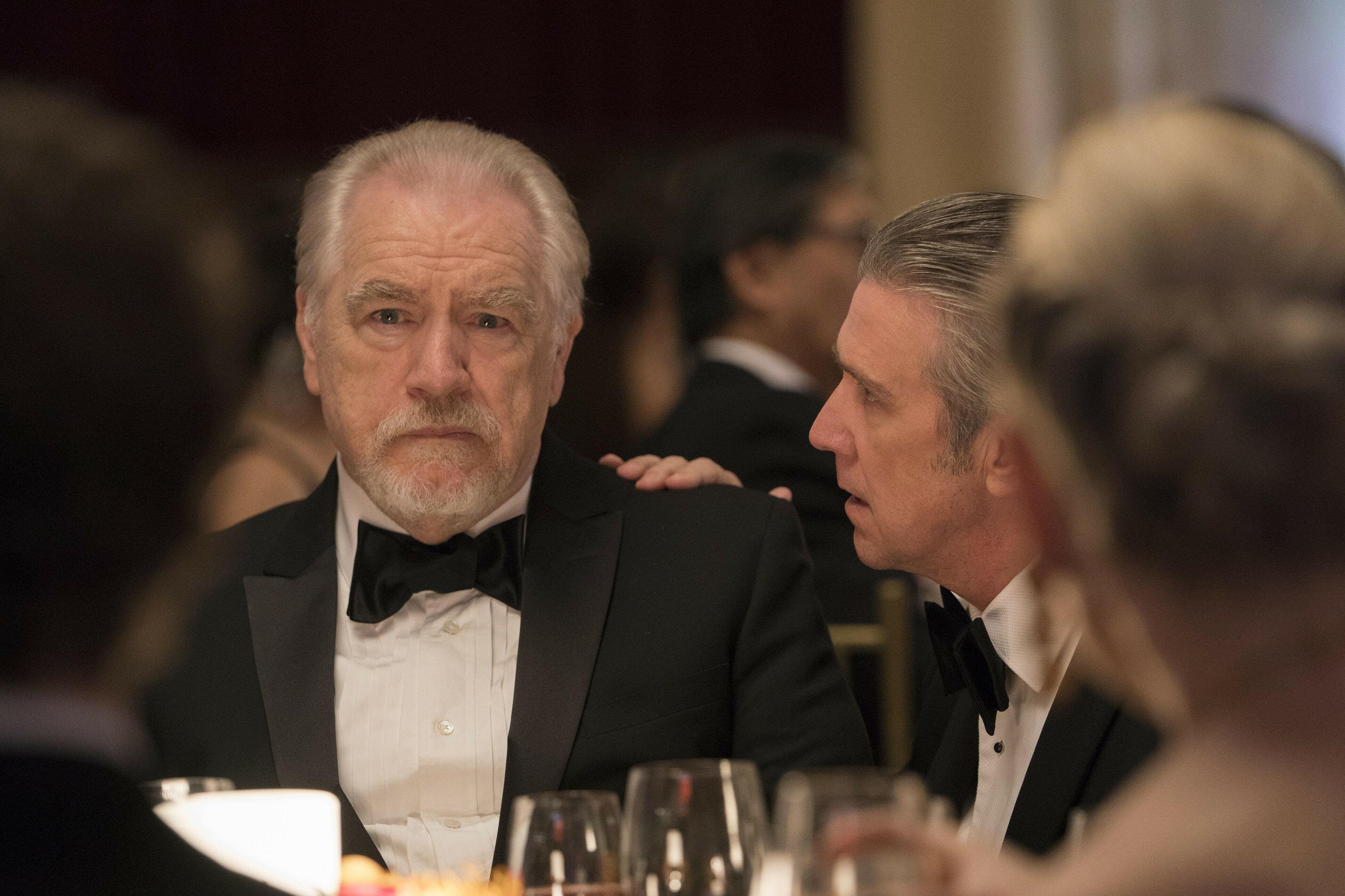 """Brian Cox in a scene from """"Succession."""""""