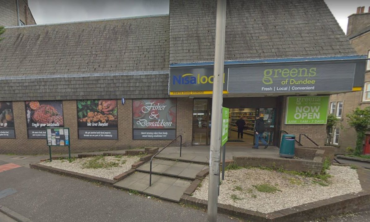 The Greens of Dundee store when it was open. (Stock image).