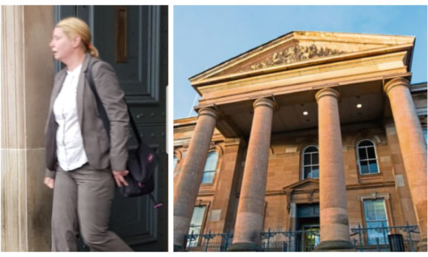 Susan Milby appeared at Dundee Sheriff Court.