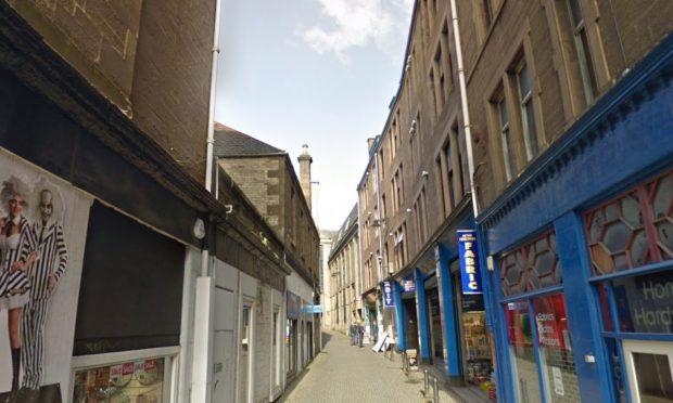 Peter Street, Dundee. (Stock image).