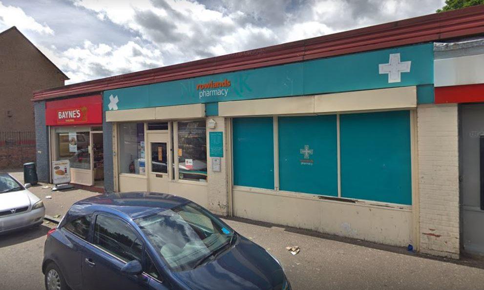 Rowlands Pharmacy in Ballindean Road.