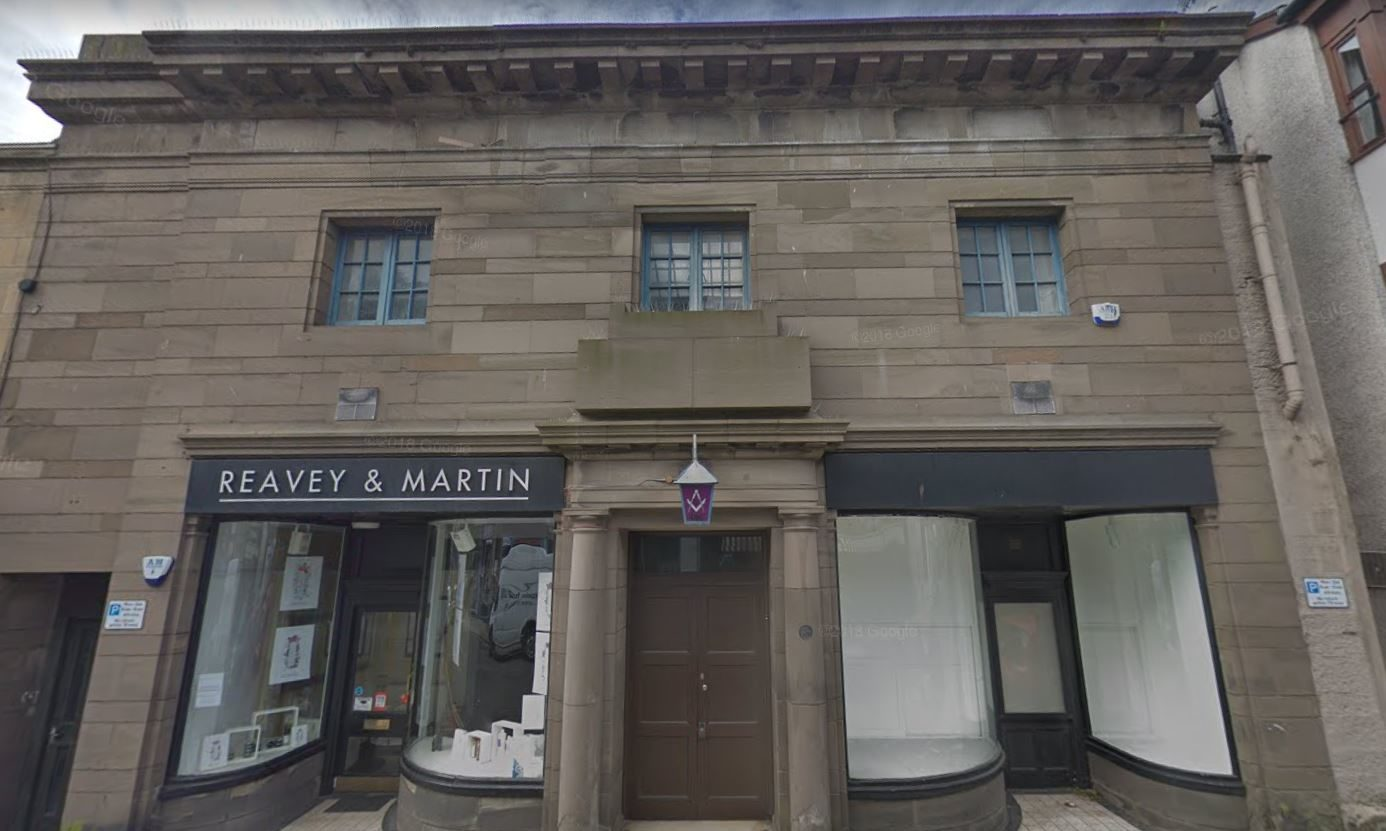 The Broughty Castle Masonic Lodge is one of the buildings which will be open to the public.