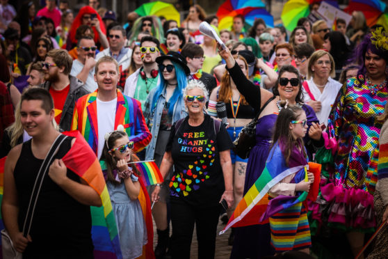 Thousands attended last year's Dundee Pride