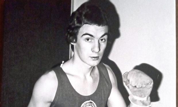 Boxer Stewart Ogilvie.