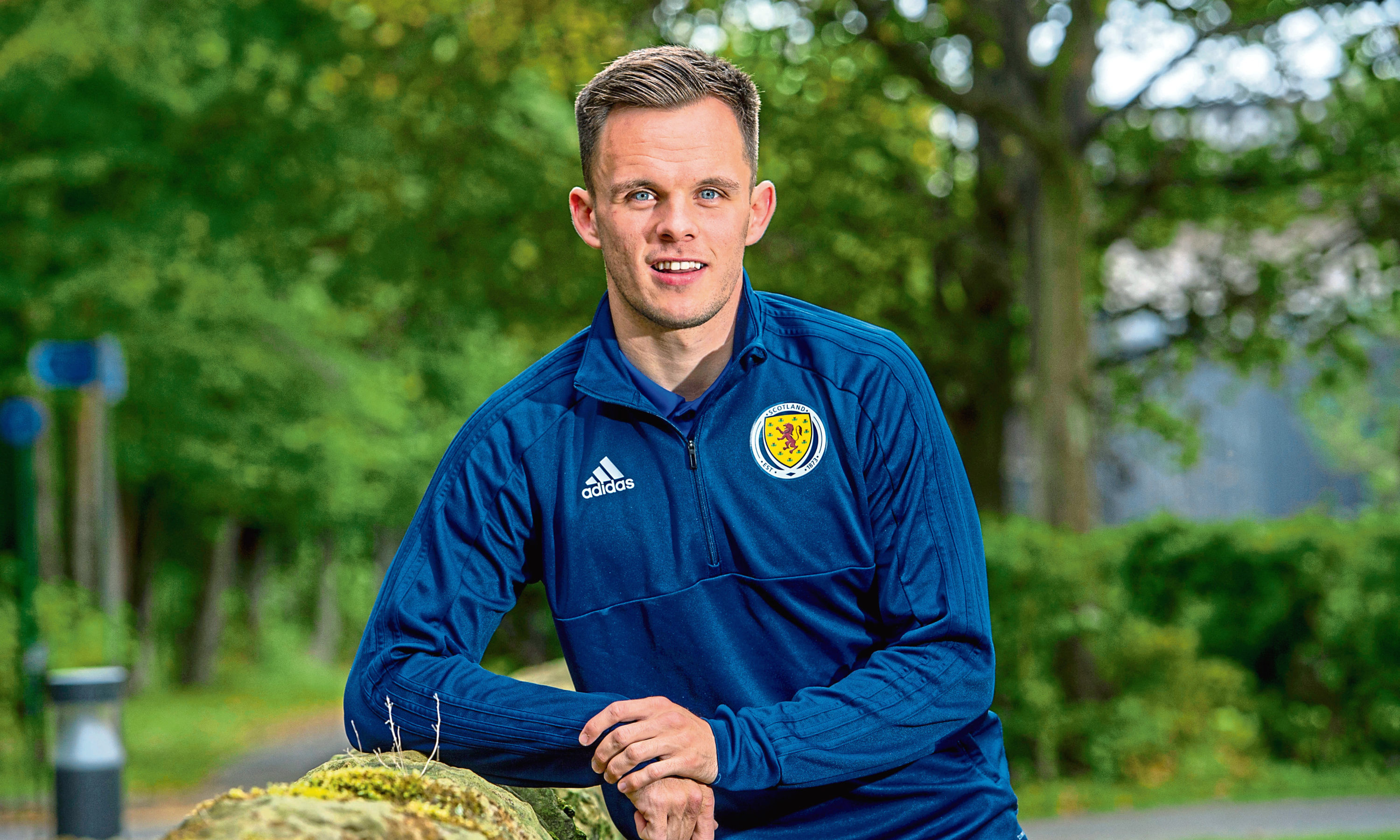 Lawrence Shankland has been named on the bench by manager Clarke.