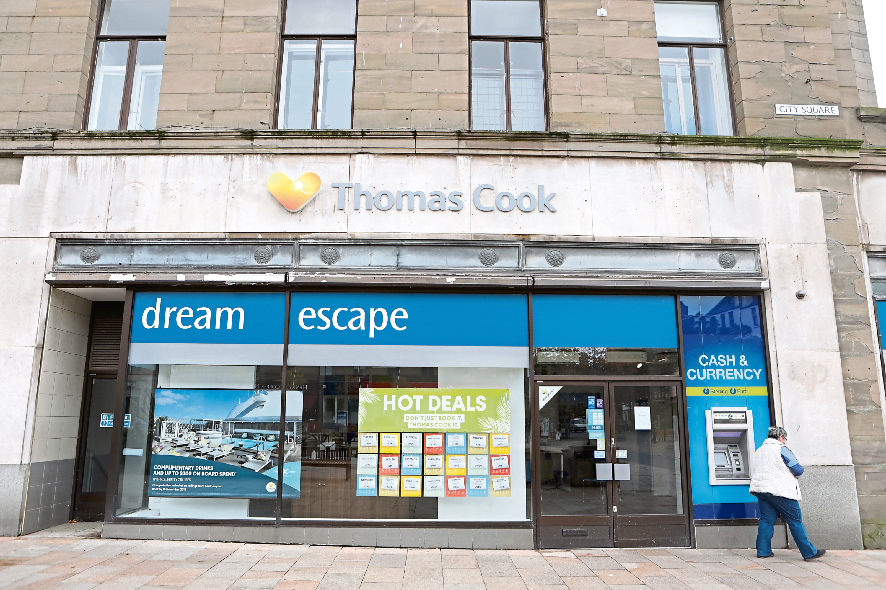Thomas Cook in Dundee City Square.