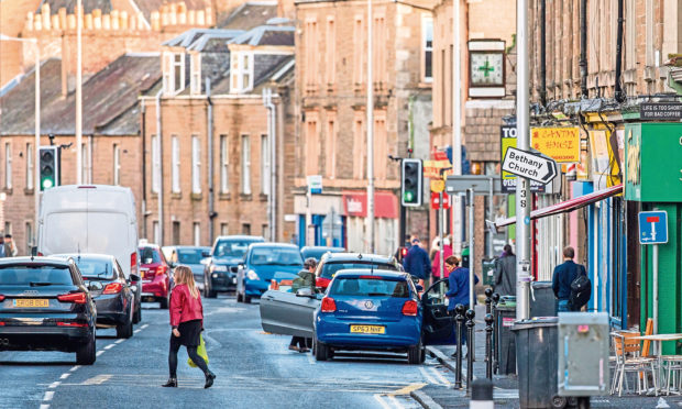 Perth Road, Dundee. (Stock image).
