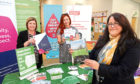 Dawn Milne of Social Security Scotland, , Claire Miller of Action for Children and Lynne Short of Dundee City Council.