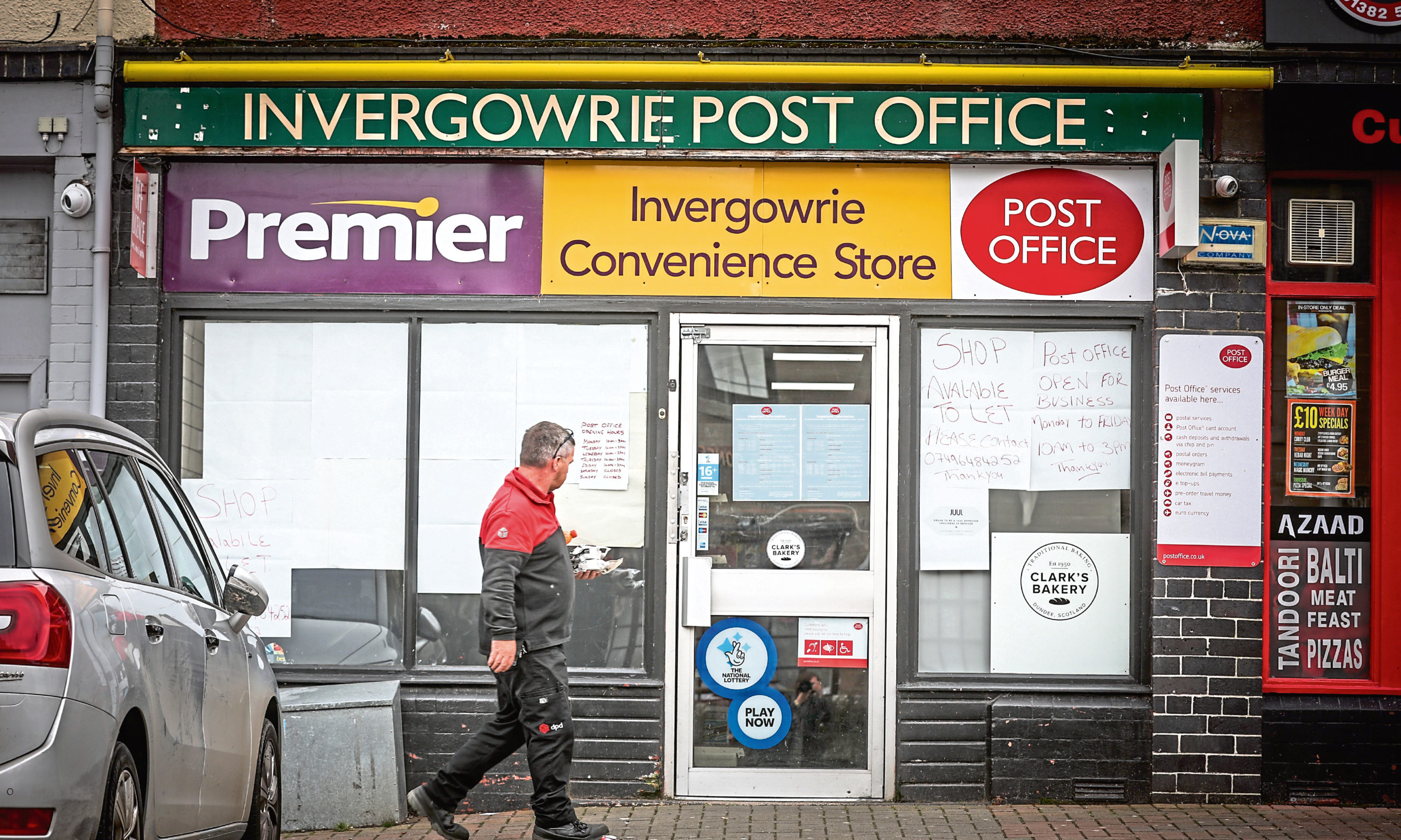 Invergowrie Post Office.