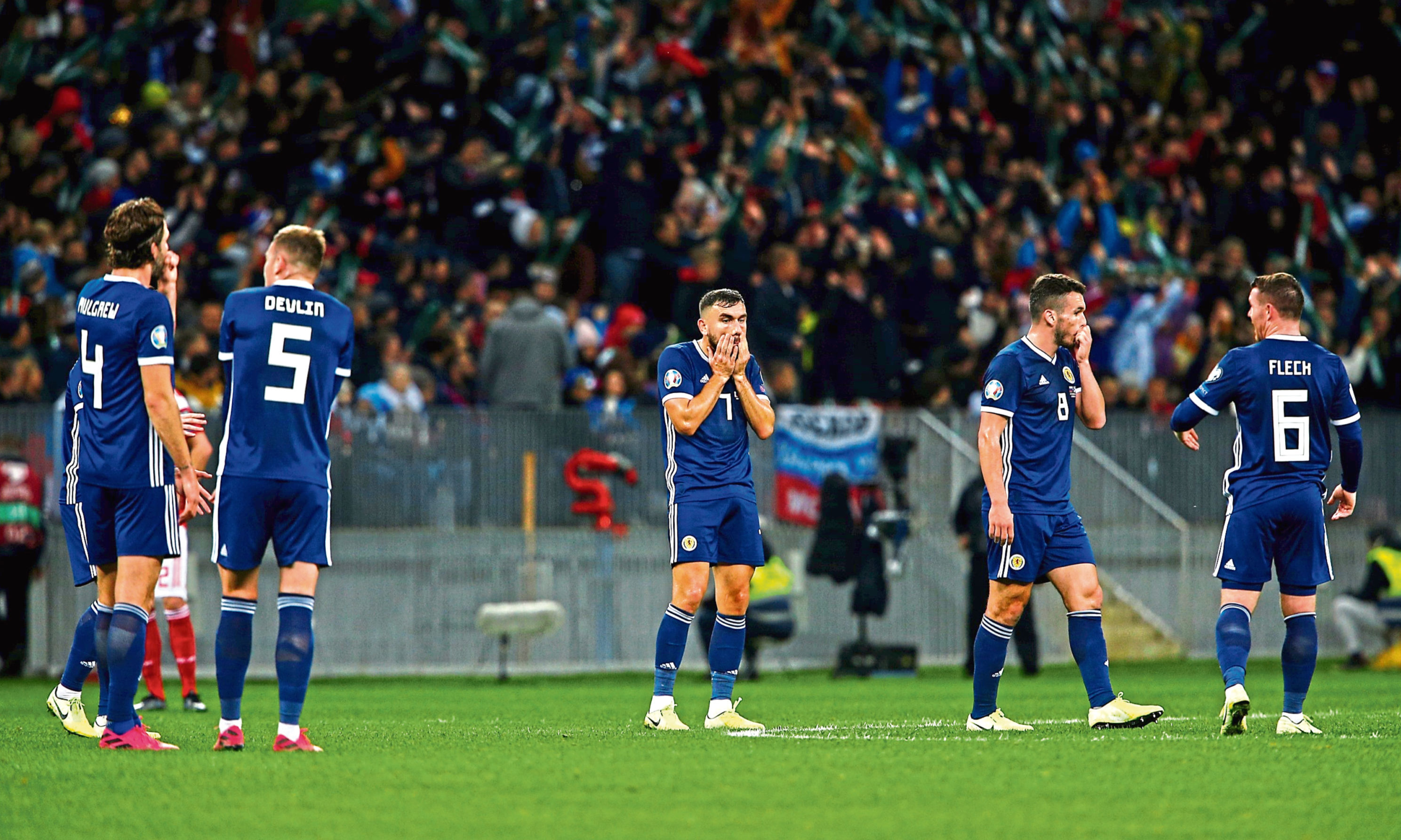 Scotland suffered another poor night in Moscow on Thursday.