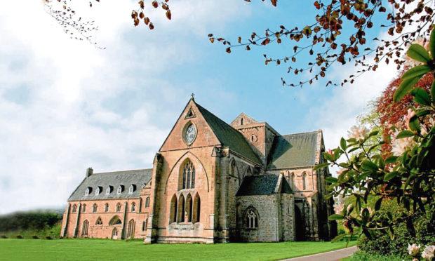 Pluscarden Abbey.