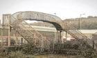 The East Dock Street to East Camperdown footbridge.