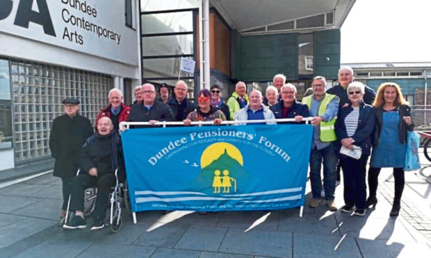 Dundee Pensioners' Forum has not been able to meet recently.