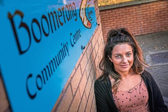 Student mental health nurse Ashley Bonini.