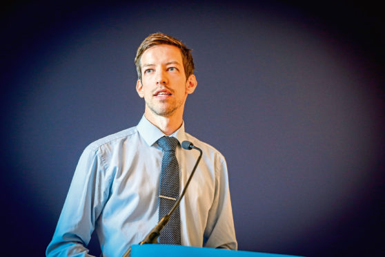 John Alexander, Dundee City Council leader.