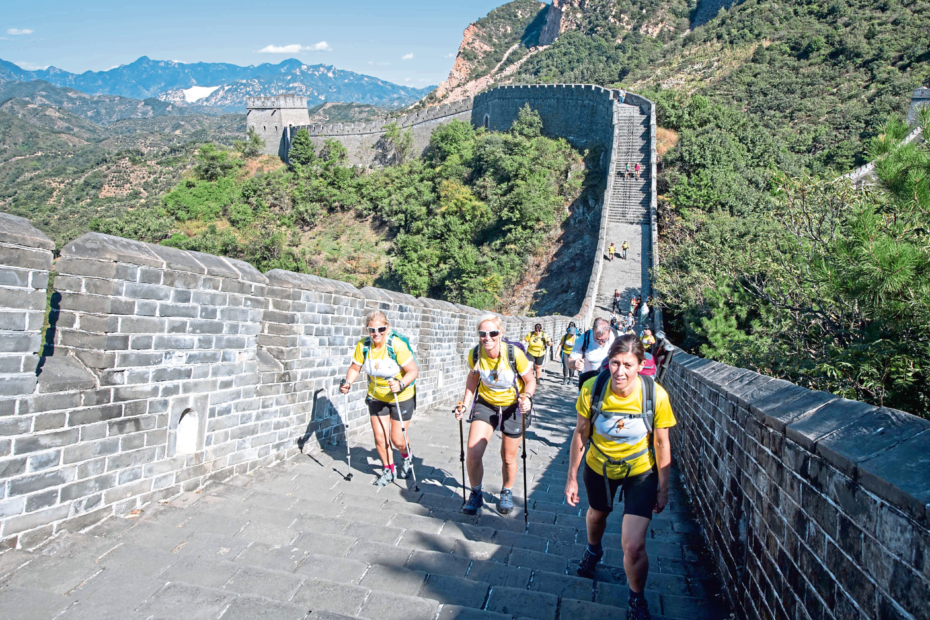 ARCHIE fundraisers on the China Trek 2018.