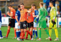 Dundee United will hope to bounce back from their 4-0 defeat at Queen of the South last Saturday with a win over Dunfermline at Tannadice today.