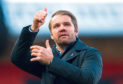 Dundee United manager Robbie Neilson can now celebrate promotion.