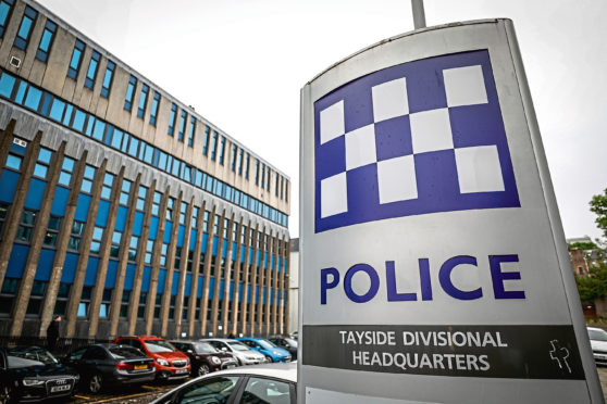 Some of the offences took place at Tayside Police headquarters in West Bell Street, Dundee.