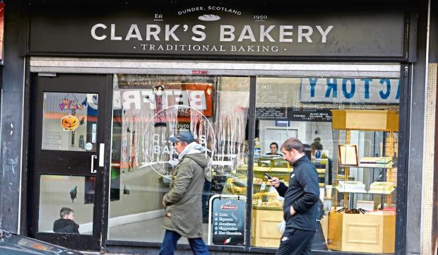 Clark's Bakery.