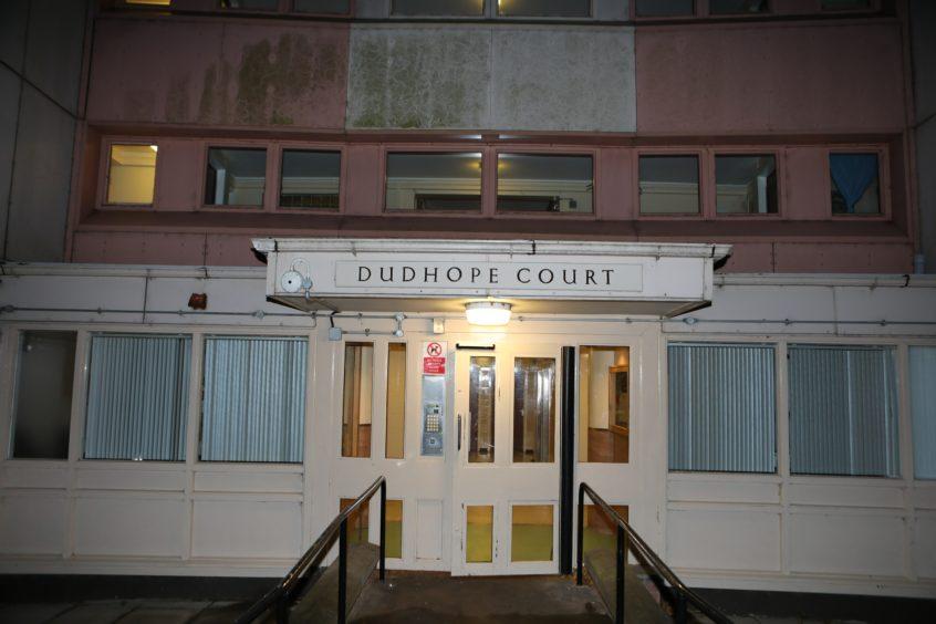 sudden death Dudhope Court