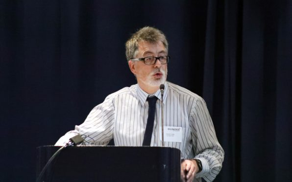 Simon Little, chair of the Tayside Alcohol and Drug Partnership.