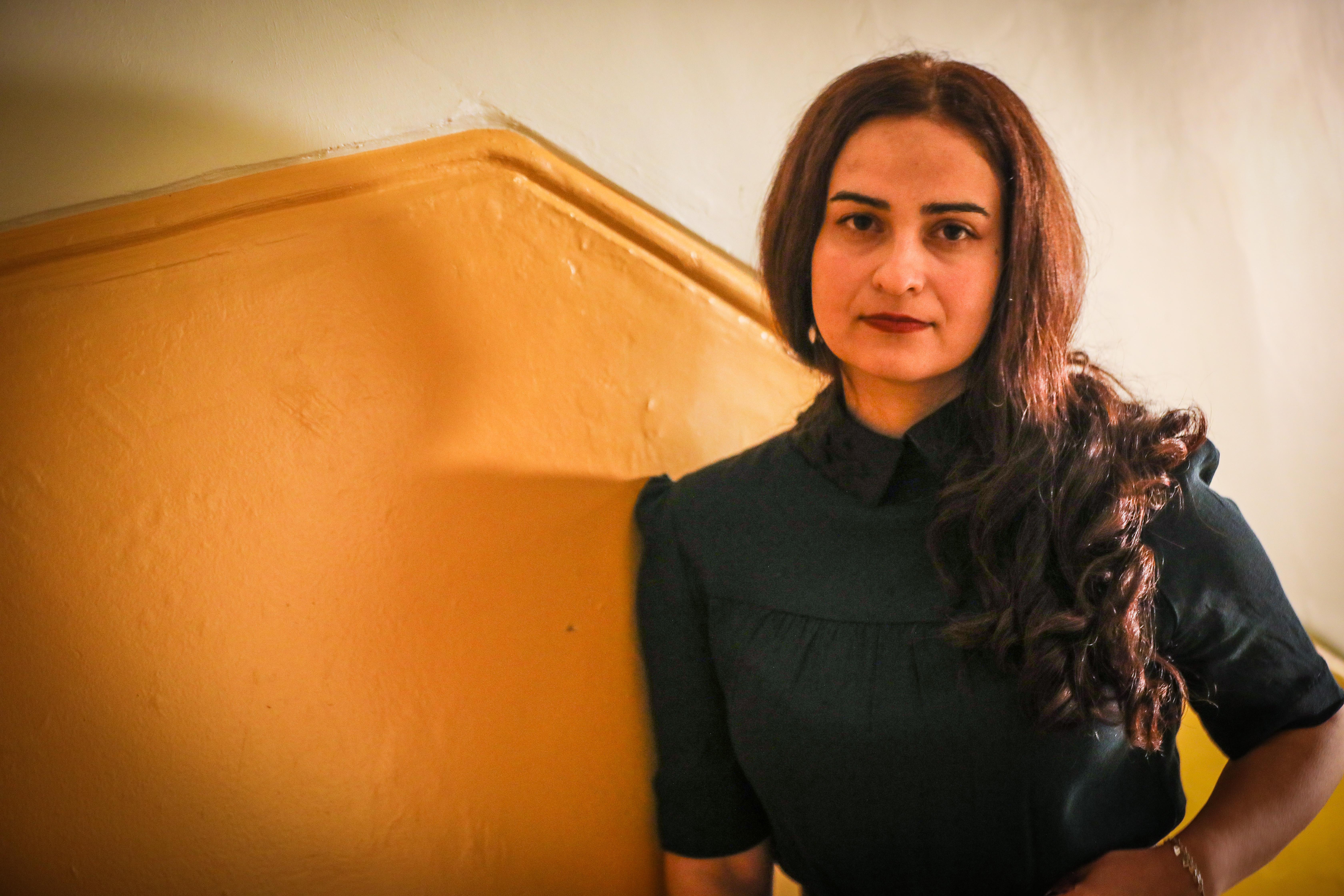 Syrian refugee Medya.
