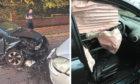 The Dens Road crash.