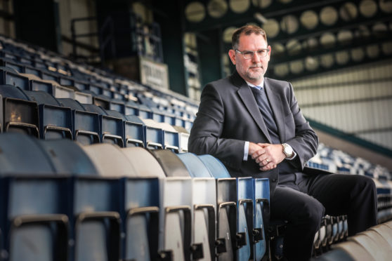 John Nelms has been at the forefront of Scottish football recently.