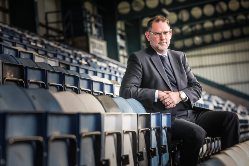Dundee chief John Nelms has warned of tough times ahead for club