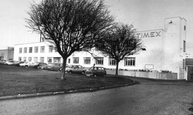 The Timex factory at Milton of Craigie.